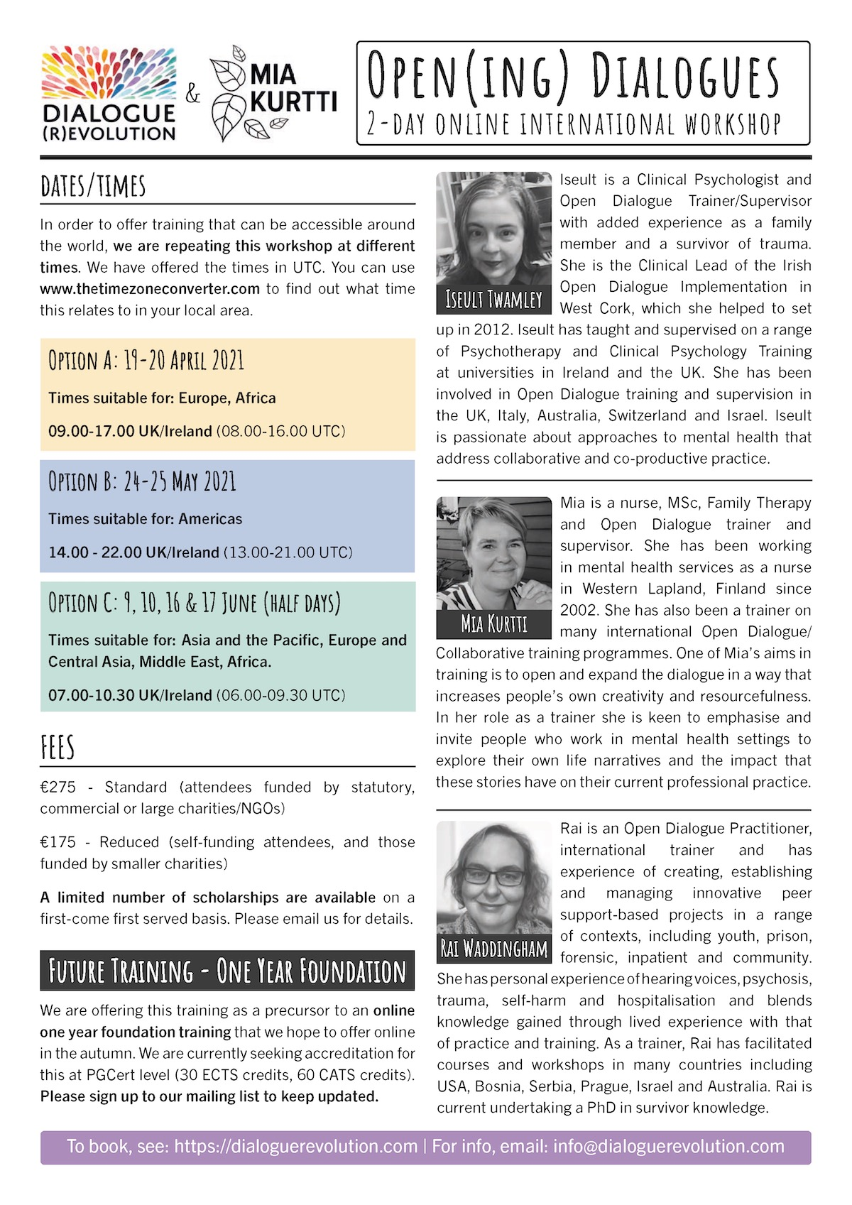 Course Flyer Page 2